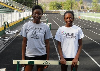 Hurdling sisters Leslie and Anu Frempong
